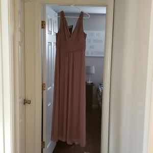 #levkoff light purple bridesmaid /prom dress!